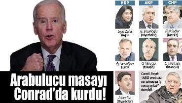 Biden'ın Fikri: Ülkeyi çatıştır. Biden Türkiye'de sadece Sağlar ve Tanrıkulu ile görüştü