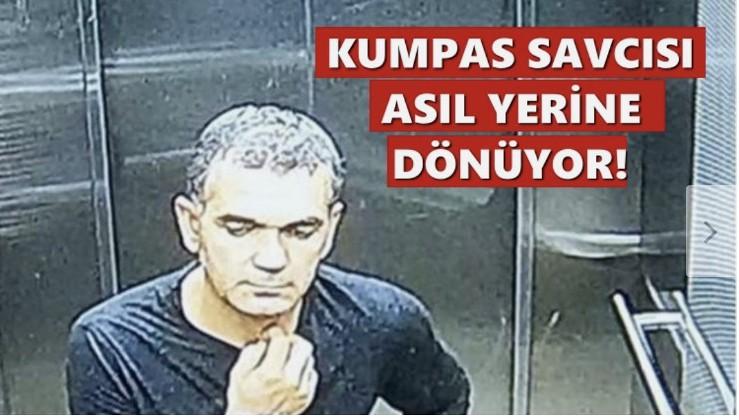 Ergenekon kumpası savcısı hakkında yeni karar