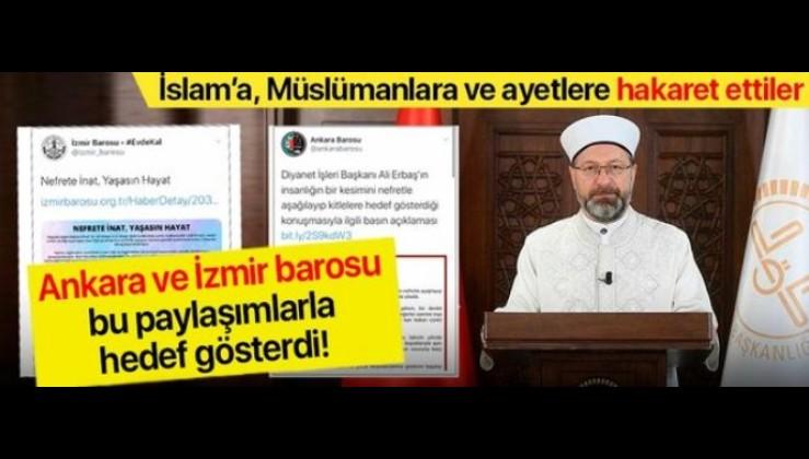 İzmir ve Ankara Barosu eşcinseller için ayağa kalktı!