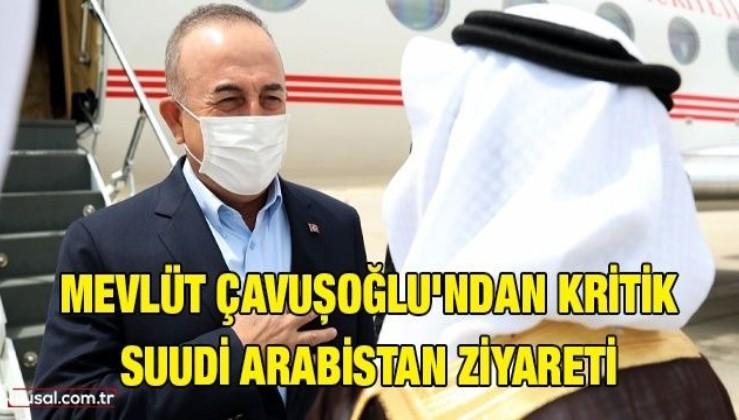 Mevlüt Çavuşoğlu Suudi Arabistan'da