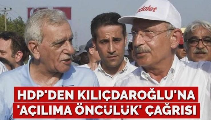 HDP'li Ahmet Türk'ten CHP'ye 'açılıma öncülük' çağrısı