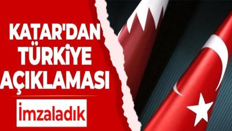 Katar Savunma Bakanlığı flaş açıklama: Türkiye ile yeni iş birliği anlaşmaları imzaladık