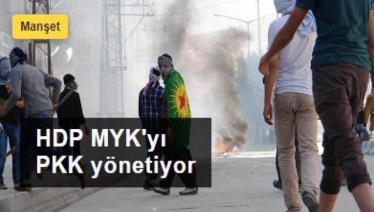 Kobani iddianamesinde terör bağı tek tek sıralanıyor: HDP MYK'yı PKK yönetiyor
