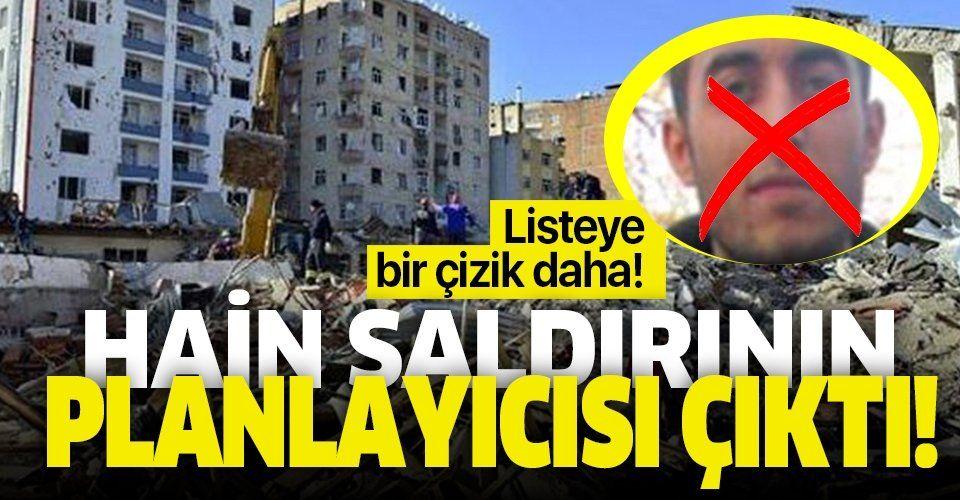 Etkisiz hale getirilen PKK'lı terörist Diyarbakır Emniyet Müdürlüğü'ne yapılan saldırının planlayıcısı çıktı!.