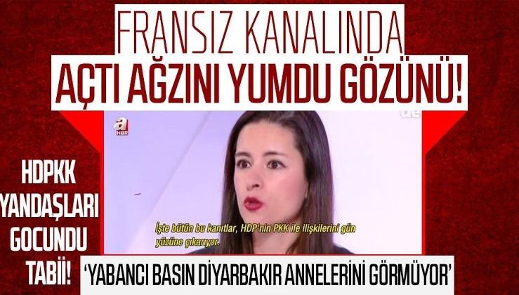 """Öznur Sinere Fransız televizyonunda HDPKK gerçeğini anlattı! """"PKK ile HDP'nin kanıtlanmış bağlantıları var"""""""