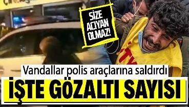 Son dakika: Boğaziçi Üniversitesi'ni kullanan vandallar... Polise mukavemet eden ve araçlarına saldıran 104 kişi gözaltında