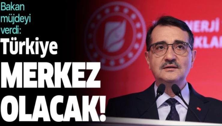 """""""Türkiye yenilenebilir enerjide merkez olacak""""."""