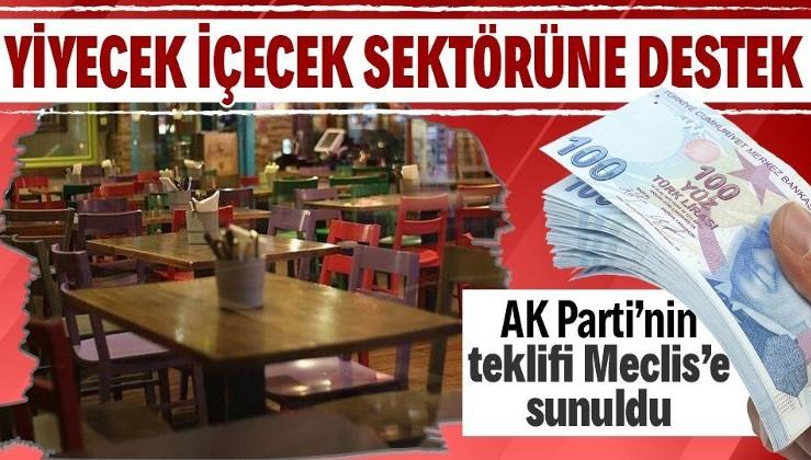 AK Parti'nin ekonomiye ilişkin yeni düzenlemeler içeren kanun teklifi TBMM Başkanlığına sunuldu