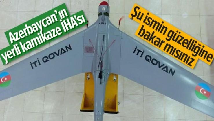Azerbaycan ordusunun kamikaze İHA'sı: İti Qovan