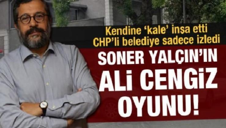 ODA TV'nin sahibi ve Sözcü gazetesi yazarı Soner Yalçın'ın kaçak kalesi