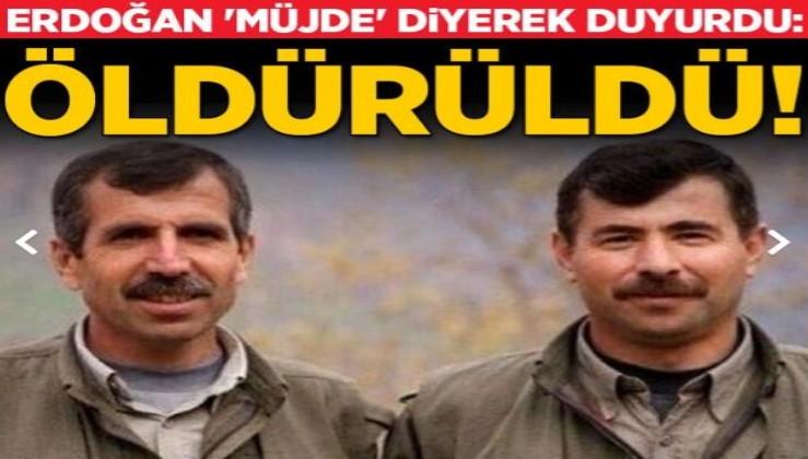 Son dakika: Erdoğan 'müjde' diyerek açıkladı! Sofi Nurettin öldürüldü