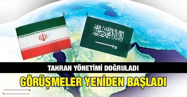 İran-Suudi Arabistan görüşmeleri yeniden başladı