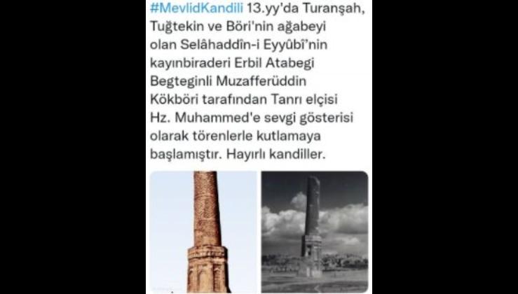 Mevlid  Kandili  kutlamalarını  Türkler başlatmıştır...