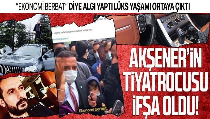 Bu da İYİ Parti Genel Başkanı Meral Akşener'in tiyatrocusu Yüksel Temur'un lüks yaşamı!
