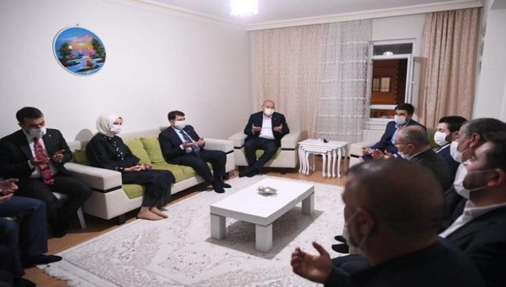 Son dakika: İçişleri Bakanı Süleyman Soylu, Barış Çakan'ın ailesini ziyaret etti