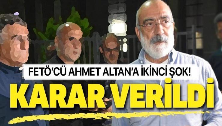 Ahmet Altan'a şok!.