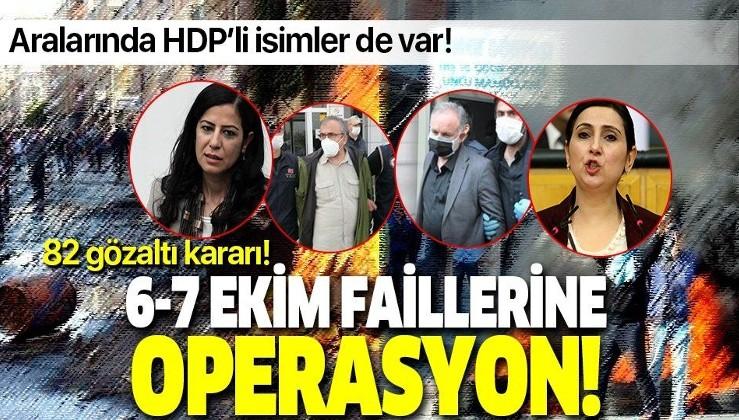 HDPKK'ya DEV operasyon! 82 kişiye gözaltı kararı!