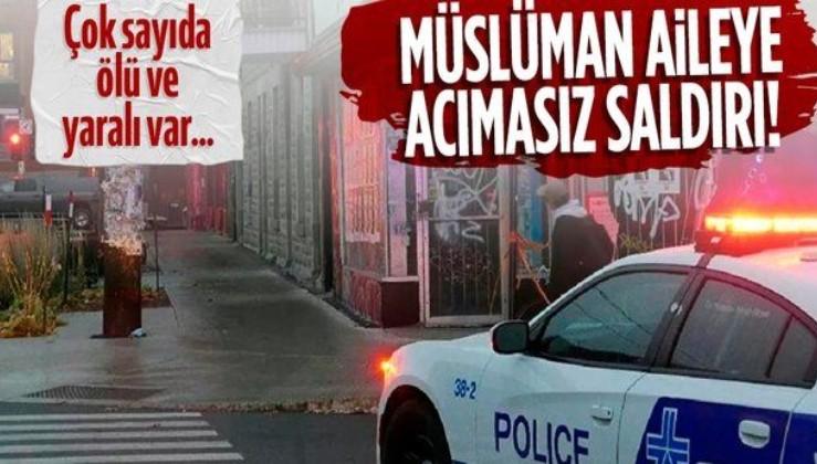 Kanada'daki saldırıda İslamofobi şüphesi: Müslüman aileden 4 kişi hayatını kaybetti