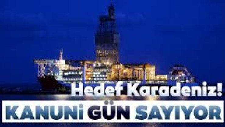 Kanuni sondaj gemisi Karadeniz'e açılmaya hazırlanıyor! Sayılı günler kaldı