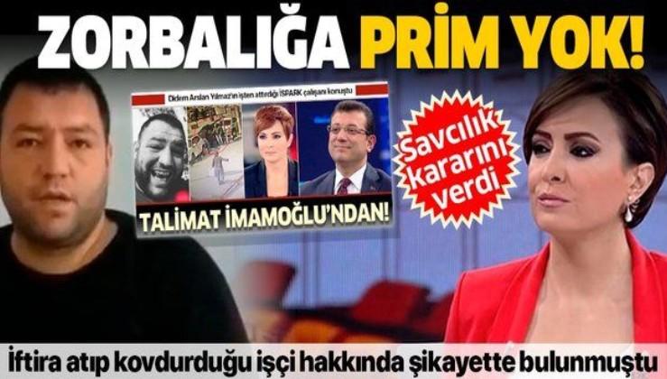 Savcılıktan sunucu Didem Arslan Yılmaz'ı şoke eden karar: Delil yok kovuşturma yersiz