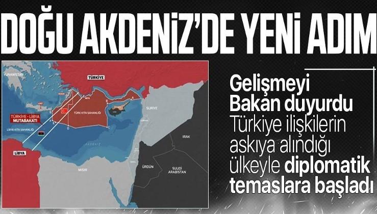 SON DAKİKA: Dışişleri Bakanı Mevlüt Çavuşoğlu: Mısır'la diplomatik düzeyde temaslarımız başladı