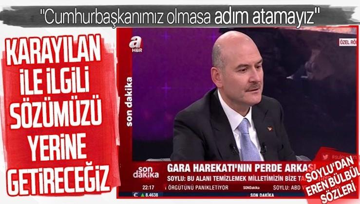 Süleyman Soylu: Sayın Cumhurbaşkanımızı bu sistemin arkasından çekin, bize bir adım attırmazlar