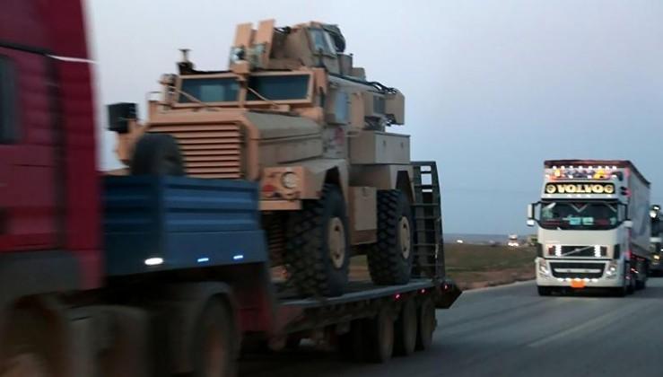 AA: ABD tırları Suriye'den çıkmaya başladı