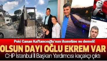Ekrem İmamoğlu'nun dayısı oğlu Ufuk İnan'ın sahibi olduğu kaçak restoran yıkıldı