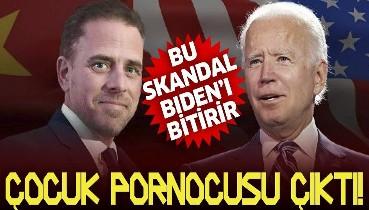 Joe Biden'ın oğlu için 14 yaşında bir kızla ilişki iddiası! ABD bu skandalla çalkalanıyor