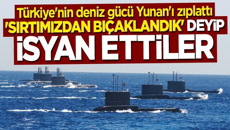 Yunan fena tutuştu: Deniz gücü Türkiye'ye doğru kaydı