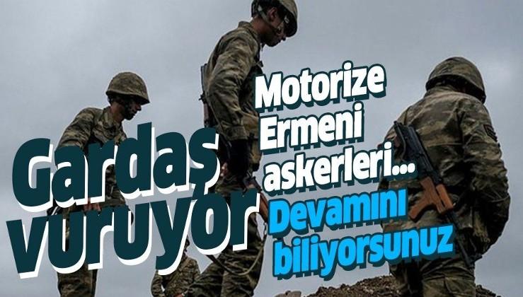 Azerbaycan ilerliyor! Şimdi de 1. motorize alayından 300 Ermeni askeri firar etti