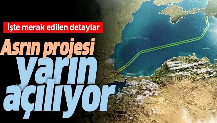 Dünyanın gözü yarın Türkiye'de olacak! Dev proje açılıyor