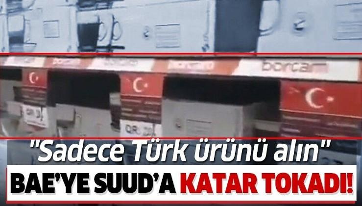 Türkiye düşmanları amacına ulaşamadı! Katar'dan Türk ürünlerine destek kampanyası!