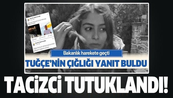 Bodrum Başsavcılığı'ndan flaş açıklama! Tuğçe Çelik isimli genç kızı tehdit eden Nurettin Şeyhmusoğlu tutuklandı!