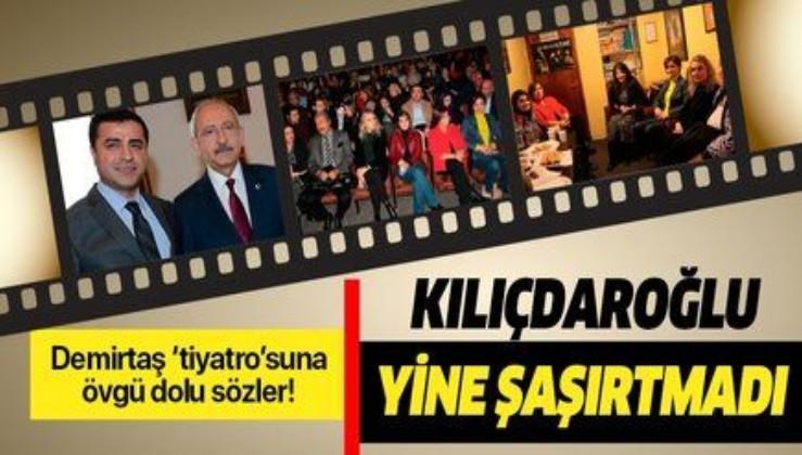 Kılıçdaroğlu CHP tabanını HDP ile ittifaka alıştırmaktan memnun