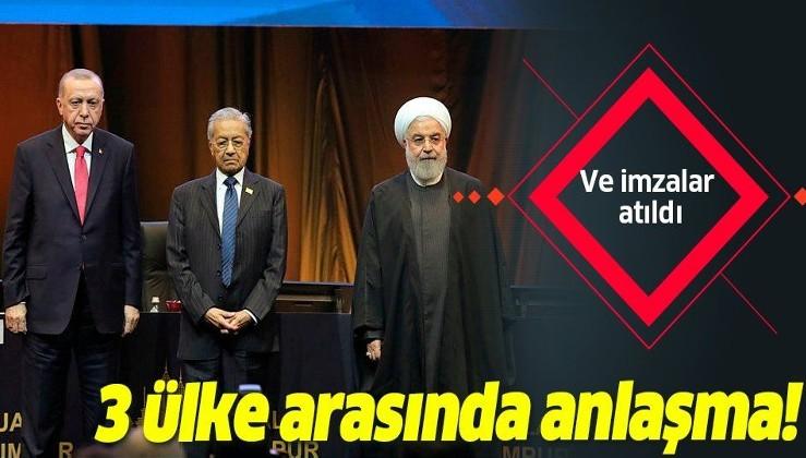 Son dakika: Türkiye-İran-Malezya arasında anlaşma!