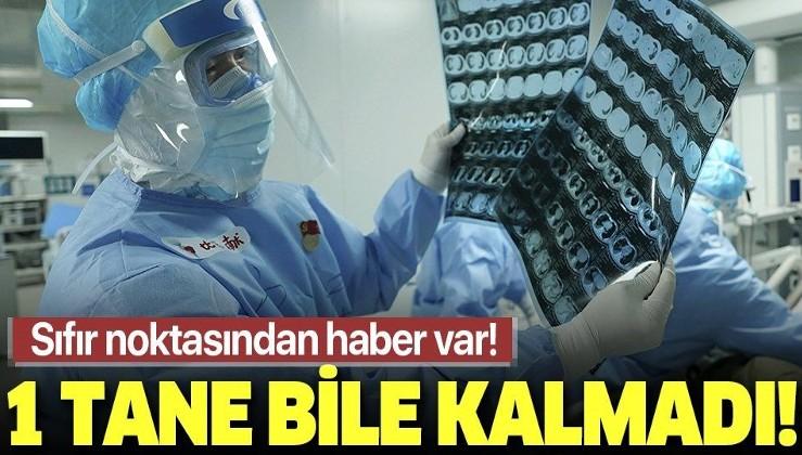 Vuhan'daki tüm hastalar taburcu