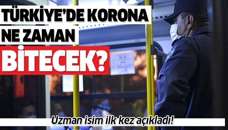 Bilim insanları ilk kez açıkladı! Türkiye'de koronavirüs ne zaman bitecek?