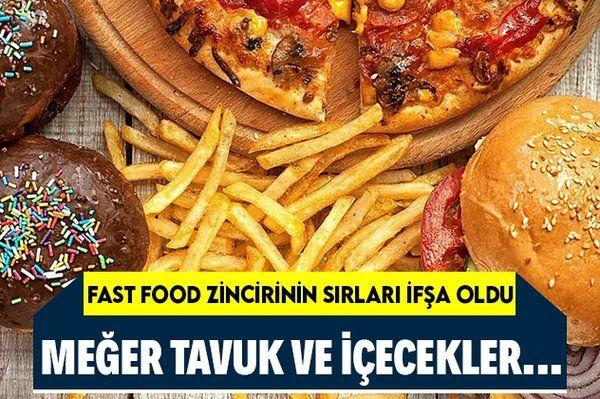 Fast food zincirinin gizli bilgileri ifşa oldu! Meğer o tavuklar ve içecekler…