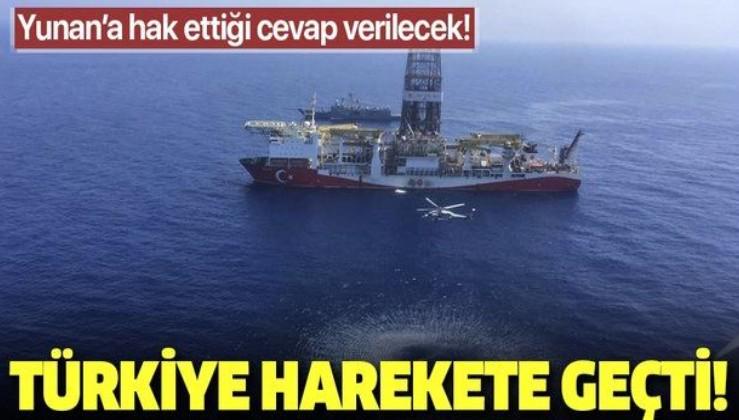 Son dakika: Türkiye'den flaş Doğu Akdeniz hamlesi! Yunan'a cevap sahada verilecek.