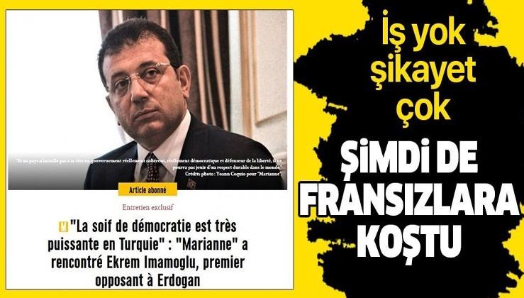 İBB Başkanı Ekrem İmamoğlu, Türkiye'yi Fransız basınına şikayet etti