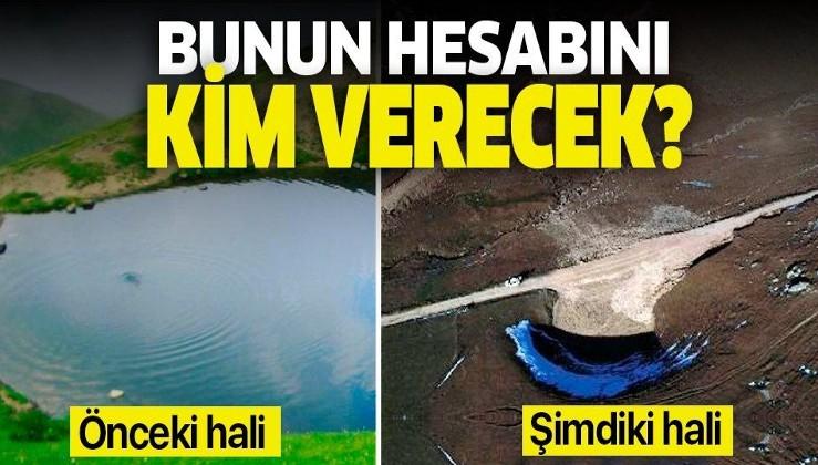 Kültür ve Turizm Bakanlığından Dipsiz Göl açıklaması: Kurumasına neden olanlar görevden uzaklaştırıldı.