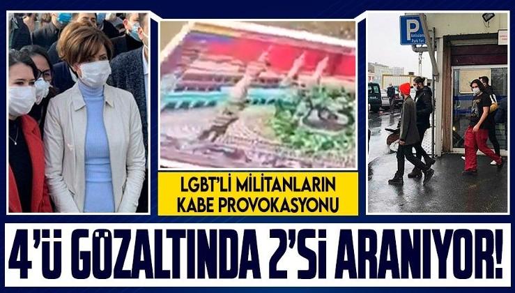 Boğaziçi Üniversitesi'nde Kabe-i Muazzama'ya büyük saygısızlık: Şüpheliler adliyeye sevk edildi