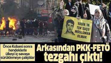 Kobani provokasyonu 6. yılında: PKK-FETÖ önce Kobani sonra hendeklerle ülkeyi iç savaşa sürüklemeye çalıştı