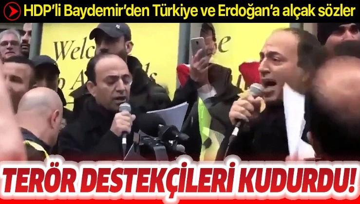 Terör destekçisi HDP'li Osman Baydemir'den Türkiye'ye alçak hakaretler.
