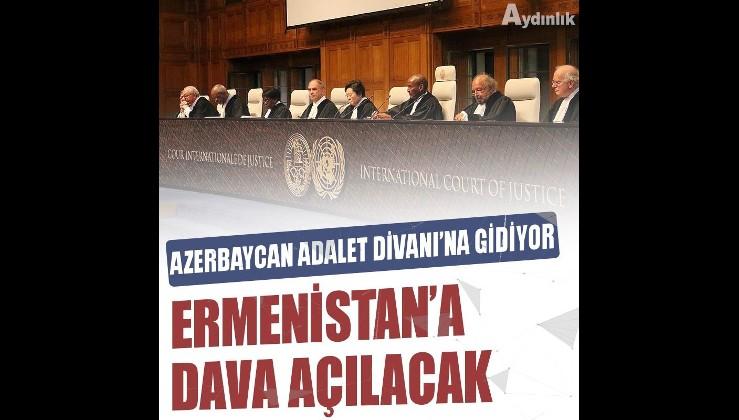 Azerbaycan, Uluslararası Adalet Divanı'nda Ermenistan aleyhine dava açacak