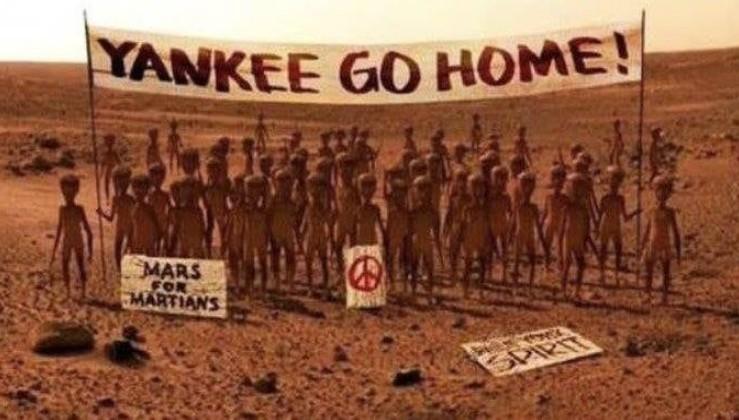 Mars'tan ilk fotoğraflar geldi...