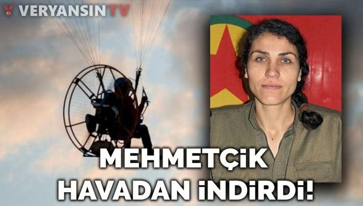 Mehmetçik PKK'ya bomba taşıyan teröristi havada vurdu