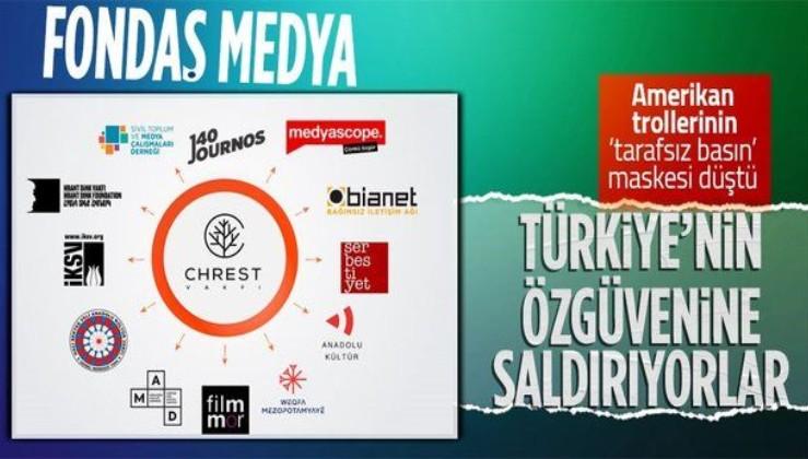 ABD'nin fonladığı medyaya tepki: Fondaş medya Türkiye'nin özgüvenine saldırıyor
