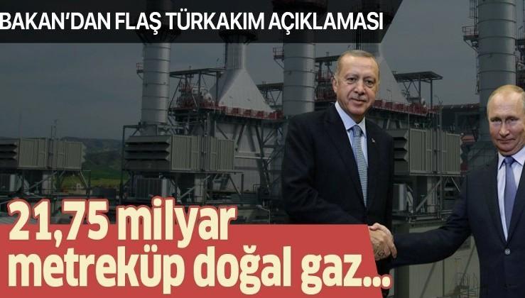 Son dakika: Bakan Dönmez'den flaş TürkAkım açıklaması!.